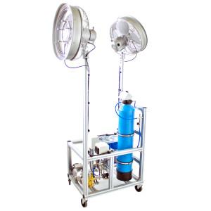 Verdunstungskühlung - Anlage